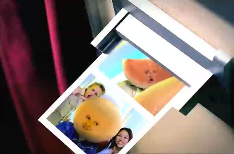 Photoboothnet  Photobooths in Commercials  Fruit Gushers