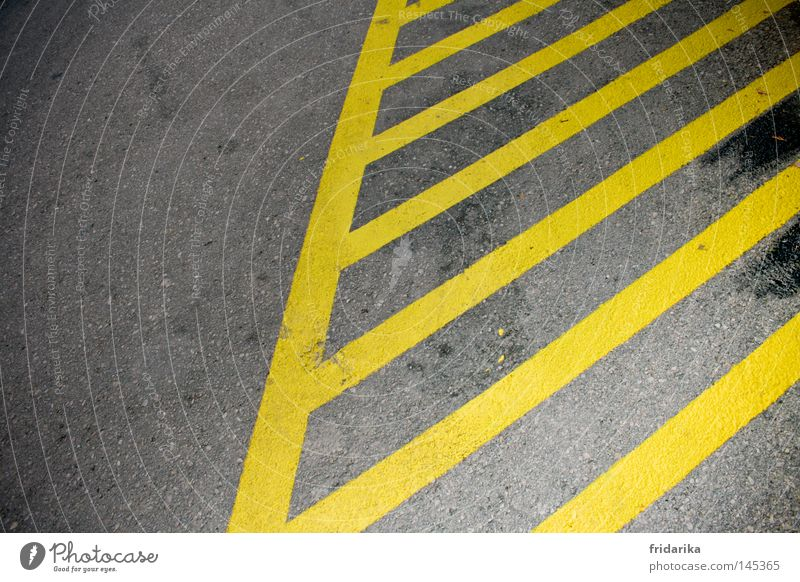 Yellow Street Gray  a Royalty Free Stock Photo from Photocase