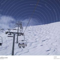 Buy Ski Lift Chair Morris Chairs For Sale Sky Sun Clouds Snow Sports A Royalty Free Stock Photo From Photocase Skiing Tracks Upward Resort Austria Winter Vacation