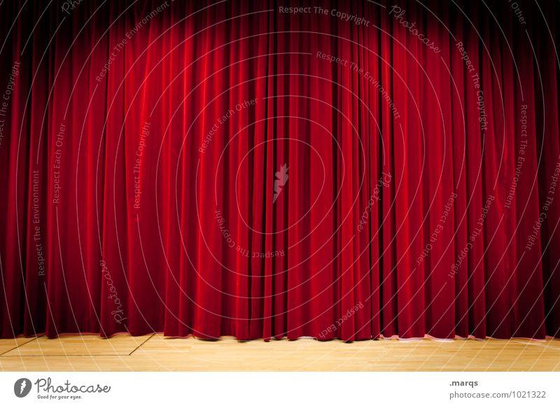 roter vorhang Kunst Kultur  ein lizenzfreies Stock Foto