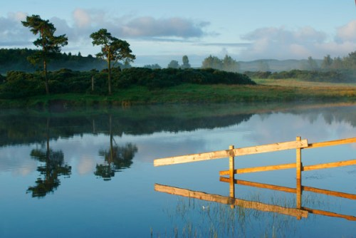 First light, the Knapps Loch, Kilmacolm