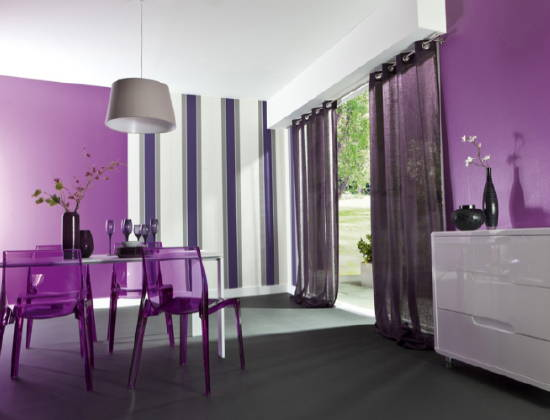 dco salon gris et violet