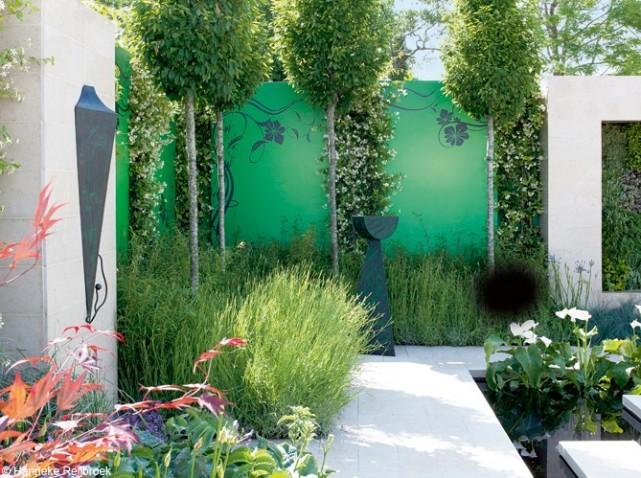 idee dco entre jardin