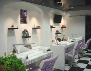 decoration salon onglerie