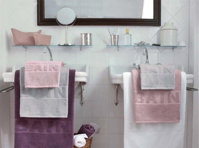 top awesome accessoire de salle de bain rose mauve photos home with salle de bain mauve et blanc - Accessoire De Salle De Bain Rose Mauve
