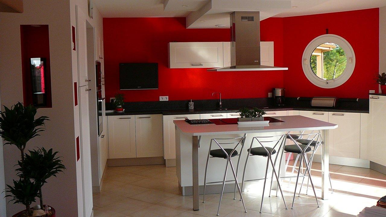 Decoration salon rouge noir blanc for Deco sejour noir blanc rouge