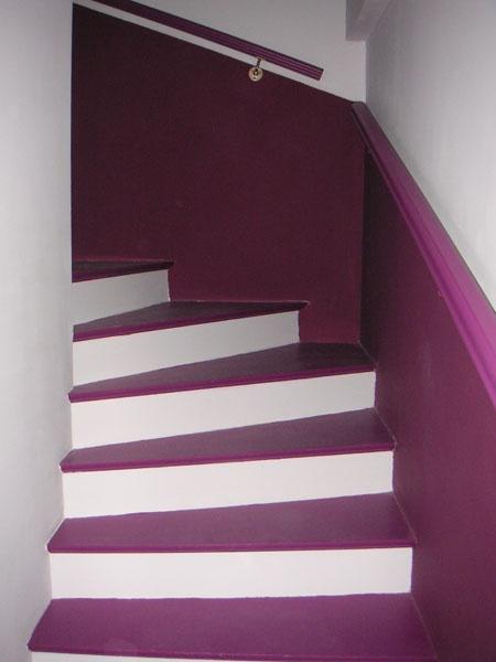 Deco Escalier Gris