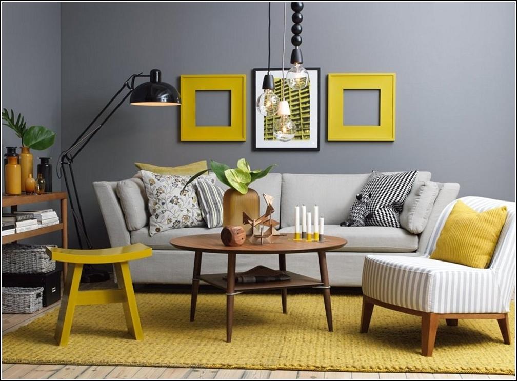 dco salon jaune et vert
