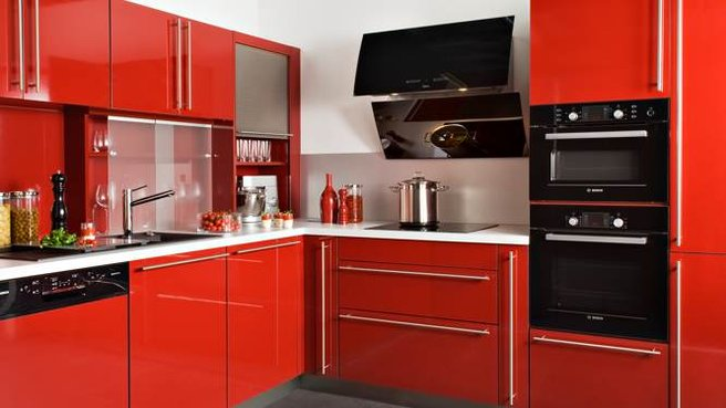 Photo Cuisine Rouge Ikea Photo Decoration Cuisine Rouge Ikea ...