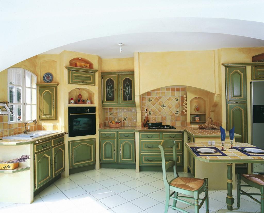 Photo Cuisine Provencale Verte Et Jaune Photo Decoration Cuisine Provencale Verte Et Jaune