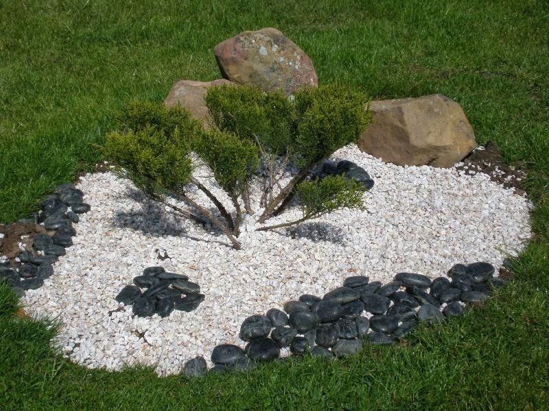 Decoration Jardin Caillou Blanc