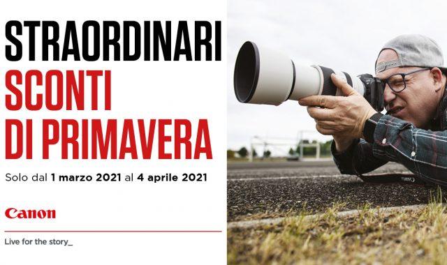 Canon Cashback Primavera