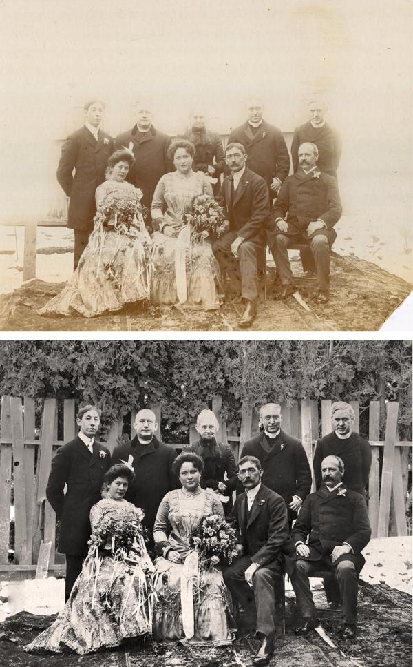 Photo Restoration Example Image