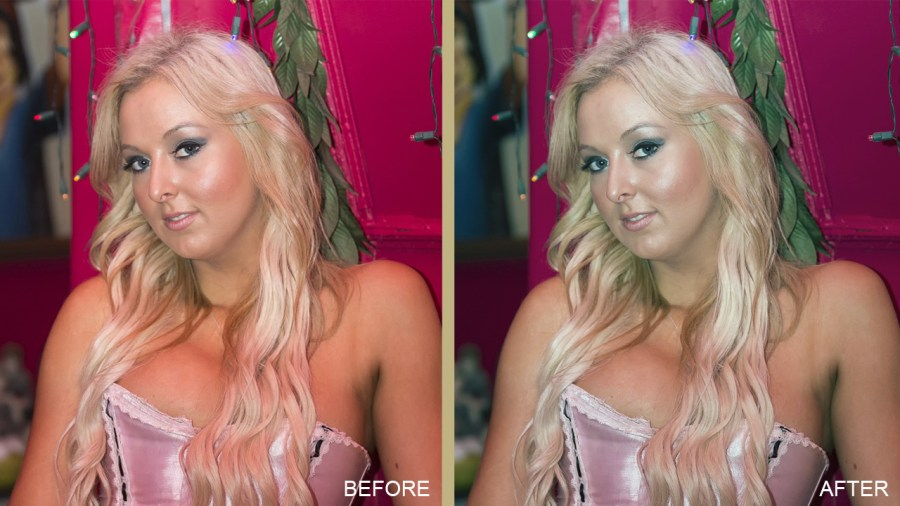 Color Correction Example