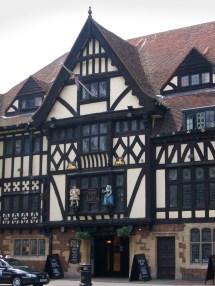 Old English Tudor Timber Frame
