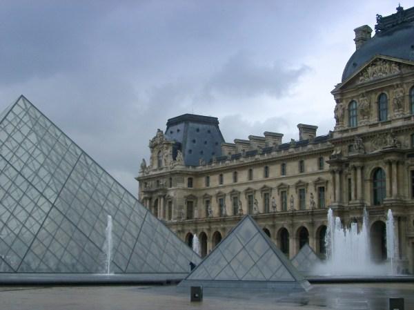 Louvre Pyramid Paris