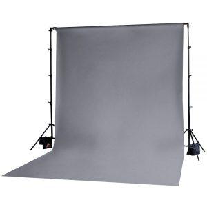 Muslin Backdrop 10x20' Grey