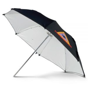 "ADW 45"" White Adjustable Umbrella"