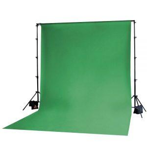 Muslin Backdrop 10x20' Chroma Green