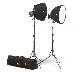 OctoDome®: White Portable Speedlight Kit