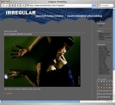 irregular photoblog
