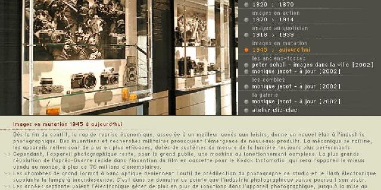 Idée week-end photo : Vevey et le musée suisse de l'appareil photographique