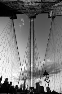 brooklyn bridge 1 (sw) (limitierte edition) - PHOTOGALERIE WIESBADEN - new york city - fascensation