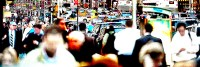 crowded 2 (photo art edition) unterer Teil - PHOTOGALERIE WIESBADEN - new york city - fascensation