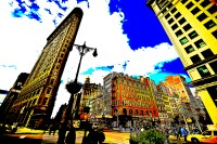 extreme flat iron buidling (photo art edition) - PHOTOGALERIE WIESBADEN - new york city - fascensation