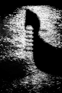 gondelsilhouette<br> <br>v : e : n : e : z : i : a<br>limitierte edition<br>© PHOTOGALERIE WIESBADEN