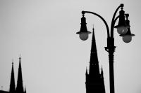 laterne und marktkirche (sw)