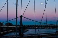 moon over manhattan bridge 2 (limitierte edition) - PHOTOGALERIE WIESBADEN - new york city - fascensation