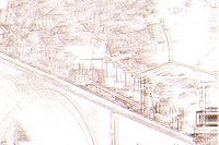 nerobergbahn - linien (photo art edition) - PHOTOGALERIE WIESBADEN - wiesbaden - impressionen 2