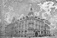rathaus - steinstruktur (photo art edition) - PHOTOGALERIE WIESBADEN - wiesbaden - impressionen 3