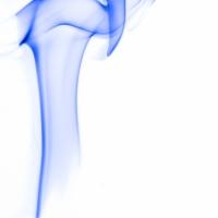 rauch 3 weiß blau - PHOTOGALERIE WIESBADEN - flamme rauch formen