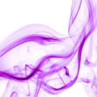 rauch 5 weiß lila - PHOTOGALERIE WIESBADEN - flamme rauch formen