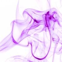 rauch 6 weiß lila - PHOTOGALERIE WIESBADEN - flamme rauch formen