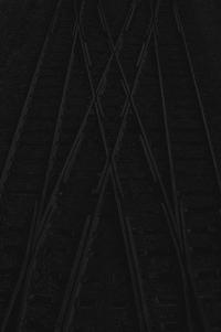 schienen - PHOTOGALERIE WIESBADEN - dunkel-schwarz