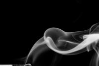 streichholzserie 3 - bild 2 (sw) - PHOTOGALERIE WIESBADEN - flamme rauch formen