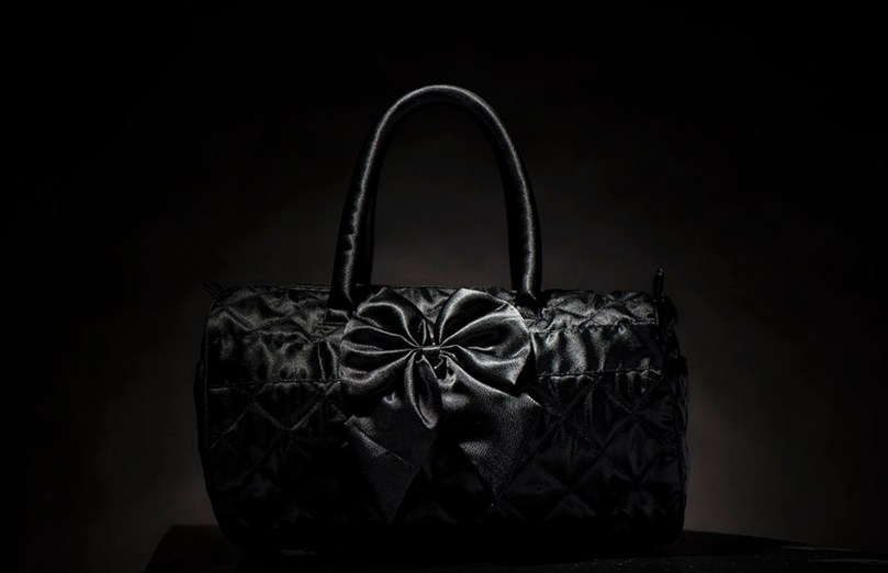 fashion product photographer Richmond Hill black bag
