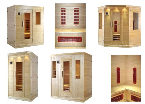 North york Toronto furniture product photographer home use sauna series