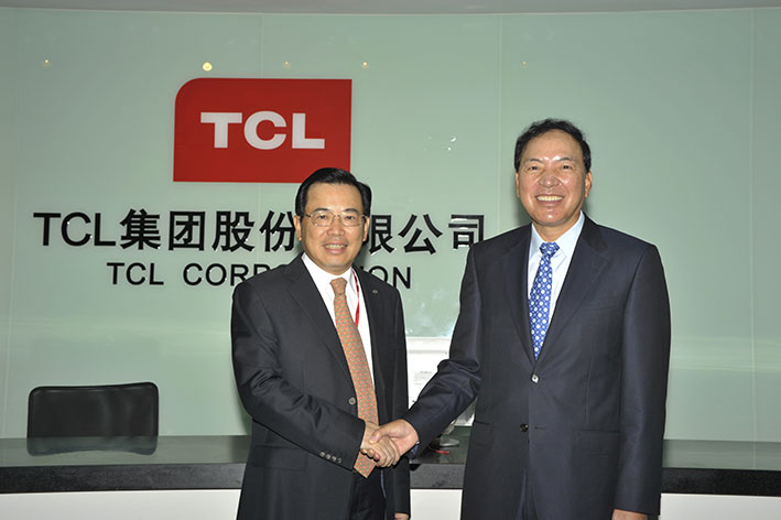 TCL and Samsung CEO