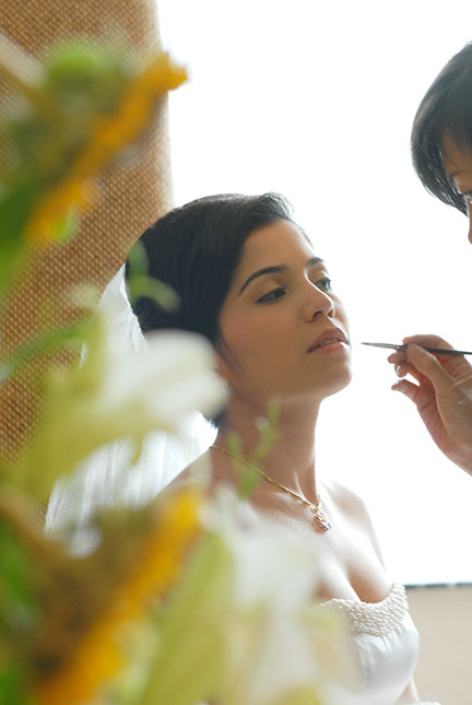 bride make up