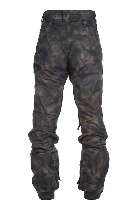 ghost mannequin men winter pants back