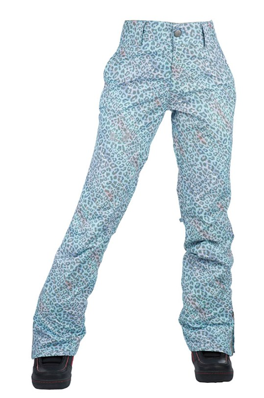 women printed pants front