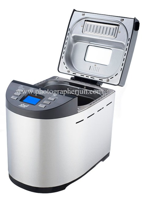 bread maker product photography Toronto