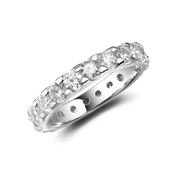 Ontario jewelry photographer Sterling Silver Diamond Ring