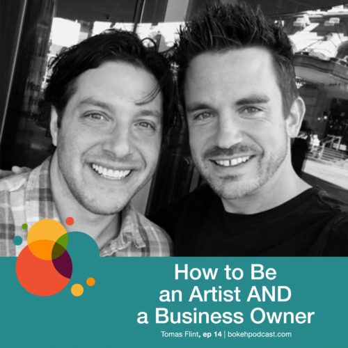 Episode 14: How to Be an Artist AND a Business Owner – Tomas Flint