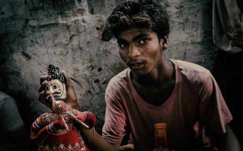 Rajasthan Puppet Maker Photography Workshop © Hamish Scott-Brown