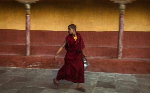 Monk at Thiksey © Hamish Scott-Brown